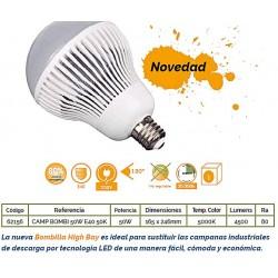 BOMBILLON LED 50W E40 - 4500Lm -5000K
