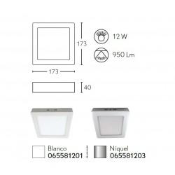 PLAFON CU.12W 950Lm