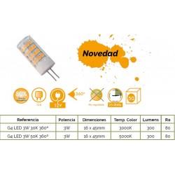 G4 LED 3W - 300Lm