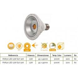 PAR-30  E27  13W  1100Lm