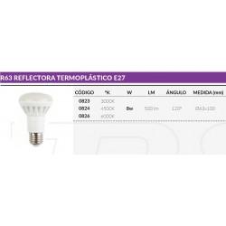 R63 TERMOPLASTICO E27 8W