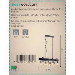 LAMPARA  GOLDCLIFF