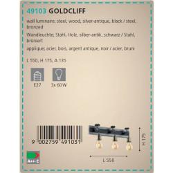 APLIQUE GOLDCLIFF