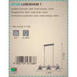 LAMPARA LUBENHAM