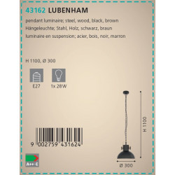 LAMPARA LUBENHAN