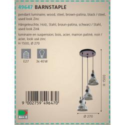 LAMPARA BARNSTAPLE