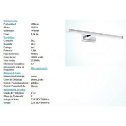 APLIQUE PANDELA LED-7,4W