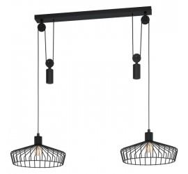 Lámpara colgante WINKWORTH 2xE27/40W/230V