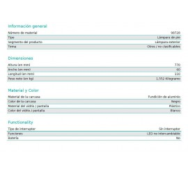 BALIZA LED RIFORANO 2X5W-1100Lm-3000K