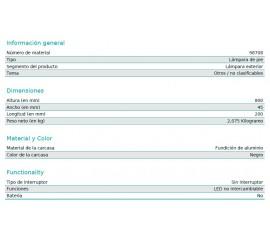 BALIZA LED BRIANZA 4,8W-500Lm-3000K