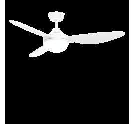 Ventilador Cierzo blanco con luz led