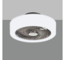 Ventilador Levante blanco con luz led